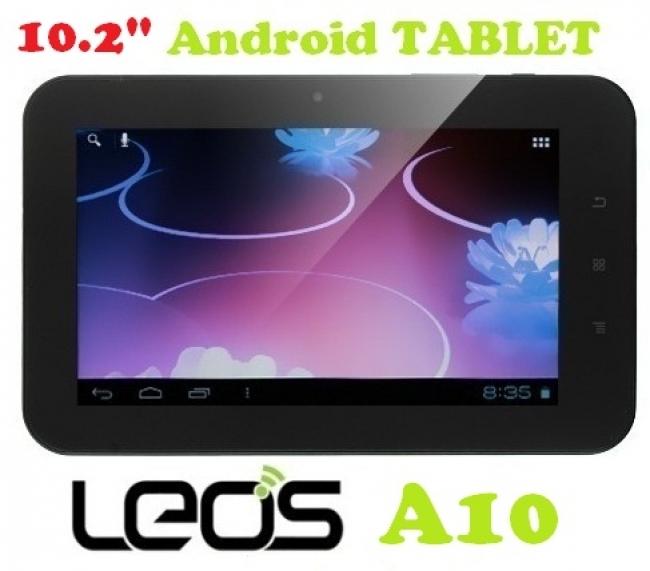 "Google таблет LEOS А10 - 10.2"" + Калъф с клавиатура"