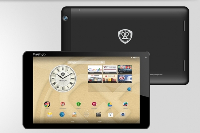 Таблет PRESTIGIO MultiPad Muze 5001 - 10.1 инча, Android 4.4, Quad, 3G, 2SIM, GPS