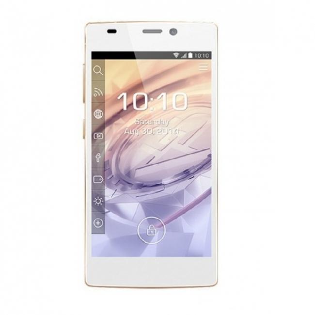 Смартфон Prestigio Grace PSP7557WHITE - 5 инча Super AMOLED, 8 ядрен - Бял