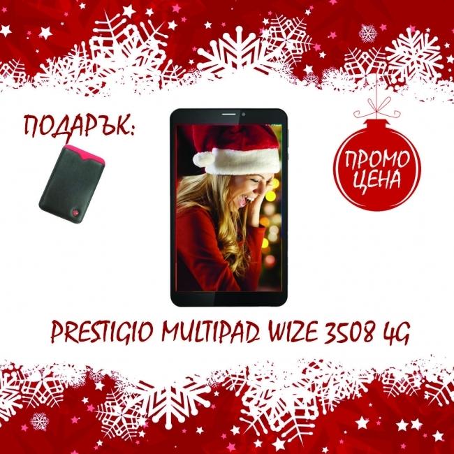 4G Таблет Prestigio MultiPad Wize 8 инча, SIM, Android 5, 16GB + КЛАВИАТУРА