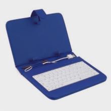 Калъф с клавиатура за таблет 8 инча - USB СИН