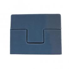 Луксозен велурен калъф за iPad 2,3,4 с прегради, функция стойка