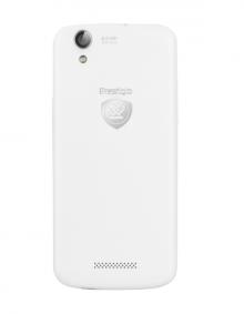 "Смартфон PRESTIGIO MultiPhone PSP5504 DUO WHITE - 5"", 2 СИМ, четириядрен - БЯЛ"
