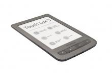 Електронна книга PocketBook 626 Touch Lux 3 - Тъмносива