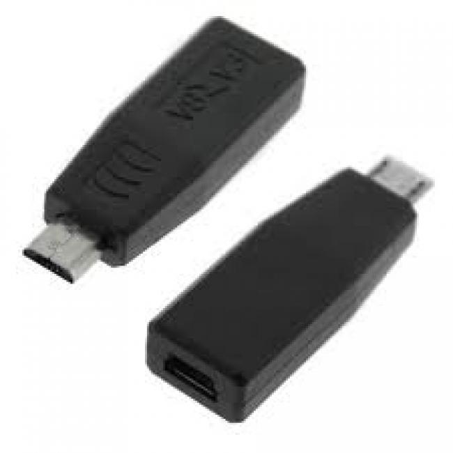 Конектор от mini USB женско към Micro USB мъжко