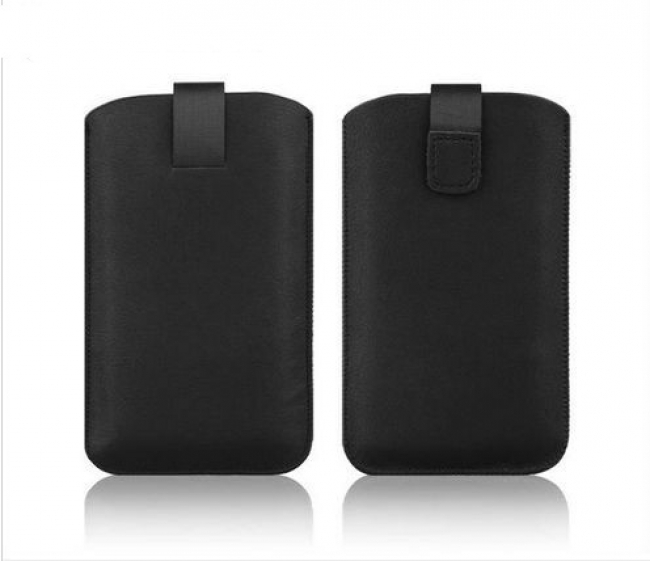 Предпазен кожен калъф за 5 инчов смартфон