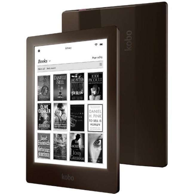 Електронна книга - eBook четец KOBO AURA 6 инча, WIFI, 1GB RAM