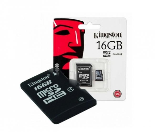 Карта памет Micro SD Kingston 16GB