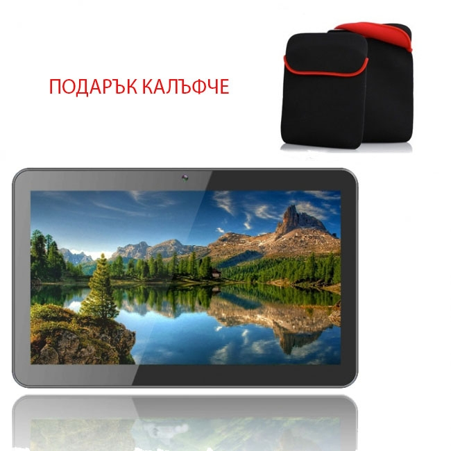 ПРОМОЦИЯ! Таблет Diva Premium Quad 10.1 инча IPS 4G GPS + Калъф Бонус