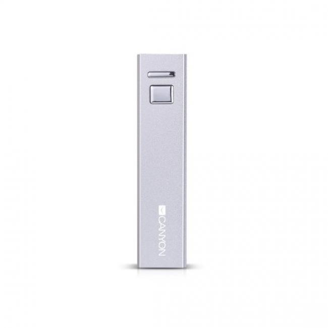 Преносима батерия Power Bank Canyon CNE-CSPB26W 2600mAh