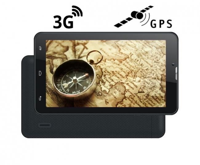 Мощна 4в1 3G GPS навигация с Android Turbo-X Calltab 7 инча, SIM, 16GB, DVR