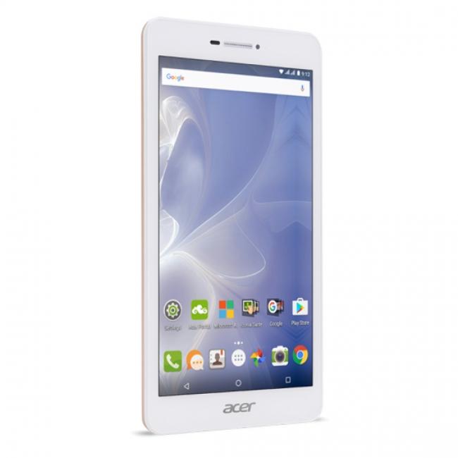 Таблет Acer Iconia B1-733-K8M5 3G - 7 инча IPS, 1GB LPDDR2, 16GB eMMC, DualSIM