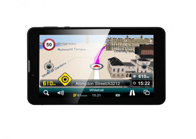 GPS навигация Android 7.1 Prestigio GeoVision 7799 Tour 3 - 7 инча, 3G, BG+EU