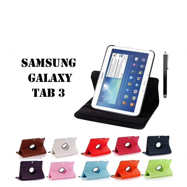 "Кожен калъф за Samsung Galaxy Tab 3 10.1"""