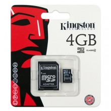 Карта памет Micro SD Kingston 4GB