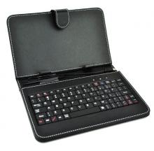 Калъф с клавиатура за таблет 9.7 инча - micro USB