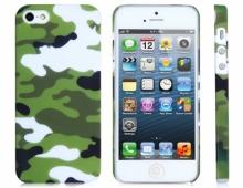 Пластмасов калъф камуфлаж за iPhone 5/5s