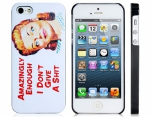 Пластмасов калъф за iPhone 5/5s с щампа