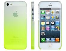 Пластмасов ултратънък калъф за iPhone 5/5s