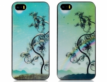 Пластмасов калъф за iPhone 5/5s 3D апликация