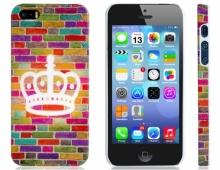 Пластмасов калъф за iPhone 5/5s корона