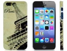 Пластмасов калъф за iPhone 5/5s PARIS