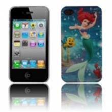 Пластмасов калъф за iPhone 4/4s малката русалка