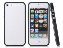 Пластмасов Bumper за iPhone 5/5s Черeн
