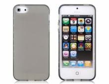 Пластмасов калъф за iPhone 4/4s прозрачен опушен