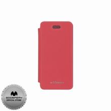 Луксозен Кожен калъф за Iphone 5/5S СИН ТИП ПАПКА FLIP COVER