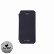 Луксозен Кожен калъф за Iphone 5/5S ТЪМНО СИН ТИП ПАПКА FLIP COVER