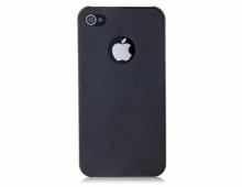 Пластмасов калъф за Iphone 5/5s ЧЕРЕН С ДУПКА