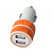 Мини Dual USB зарядно за кола за таблети, смартфони и GPS навигации 3.1A