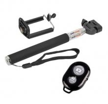 Монопод селфи стик за смартфони, фотоапарати и камери