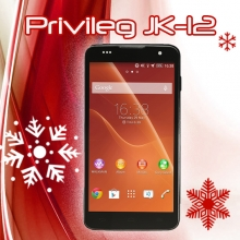 Четириядрен смартфон Privileg JK-12 - 5 инча, 1GB RAM, 2 СИМ, 3G, БГ Меню