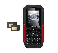 Екстремен телефон Evolveo StrongPhone X3 - 3G, Bluetooth, Wifi,