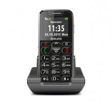 Телефон Evolveo EasyPhone - SOS бутон, големи символи