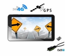 5в1 таблет GPS навигация с Android DIVA 7″, 4G, SIM, Quad Core, 24GB, ТВ, 2 програми