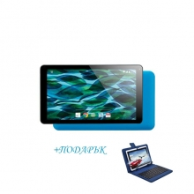 Таблет QuadColor Blue  - 7 инча, 8GB, Четириядрен + СИНЯ КЛАВИАТУРА