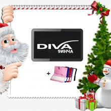 Промоция! Четириядрен таблет DIVA Premium 9 инча + Калъф с клавиатура
