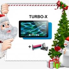 Промоция! Таблет TURBO-X Rubik Blue - 7 инча, 8GB + Калъф