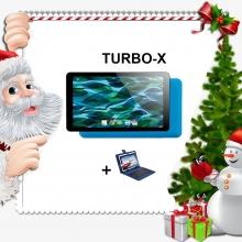 Промоция! Син таблет TURBO-X Rubik Blue - 7 инча, 8GB + Калъф с клавиатура