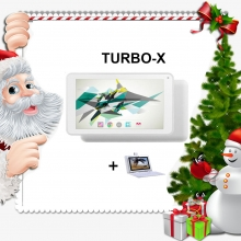 Промоция! Бял таблет QuadColor White 7 инча, 16GB + Калъф с клавиатура