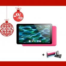 Промоция! Розов таблет QuadColor Pink 7 инча, 8GB + Калъф