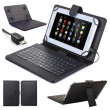 "Клавиатура за таблети 10.1"" micro USB съвместим с Lenovo Tab 2 A10-70, Tab A10-70, Tab 3 10"